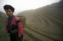 ÁSIA CHINA GUANGXI LONGSHENG Imagem de Stock
