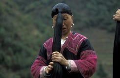 ÁSIA CHINA GUANGXI LONGSHENG Fotos de Stock