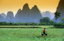 ÁSIA CHINA GUILIN imagem de stock royalty free