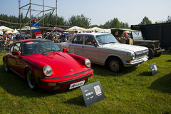 Ásia China, Pequim, feira automóvel clássica, Porsche 930 carros Fotografia de Stock