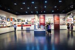Ásia China, Pequim, museu da guerra da resistência dos povos contra a exposição de ŒIndoor do ¼ de Aggressionï do japonês Imagens de Stock Royalty Free