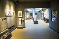 Ásia China, Pequim, museu de arte de cinzeladura de pedra, área interna Imagens de Stock Royalty Free