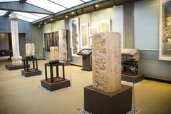 Ásia China, Pequim, museu de arte de cinzeladura de pedra, área interna Fotos de Stock