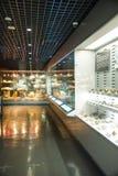 Ásia China, Pequim, museu geological, salão de exposição interno Imagem de Stock