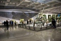 Ásia China, Pequim, museu militar, salão de exposição interno, Fotografia de Stock Royalty Free