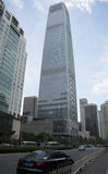 Ásia, China, Pequim, negócio central de CBD, arquitetura de Œmodern do ¼ da torre 3ï do World Trade Center de China Imagem de Stock