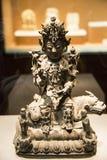 Ásia China, Pequim, o museu principal, salão de exposição interno, bodhisattvaBuddha Imagens de Stock