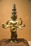 Ásia China, Pequim, o museu principal, salão de exposição interno, Buda, Bodhisattva de Guanyin Imagens de Stock Royalty Free