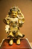 Ásia China, Pequim, o museu principal, salão de exposição interno, Buda, dhrtarastra Imagem de Stock Royalty Free