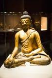 Ásia China, Pequim, o museu principal, salão de exposição interno, Buda, Shakya Mani Imagem de Stock