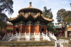 Ásia China, Pequim, o palácio imperial, a história da construção, Imagem de Stock Royalty Free