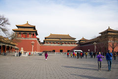 Ásia China, Pequim, o palácio imperial, Royal Palace Fotos de Stock