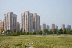 Ásia China, Pequim, parque do palácio de Sun, arquitetura paisagística Fotografia de Stock Royalty Free