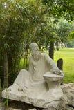 Ásia, China, Qingdao, Shandong, escultura, Gao Fenghan foto de stock royalty free