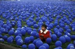 ÁSIA CHINA SICHUAN CHENGDU Fotos de Stock Royalty Free