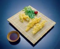 Ásia, Coreia, alimento, cultura, esteira, fritada, molho de soja, molho, dentro, luz, sombra, close-up, retângulo, foto de stock royalty free