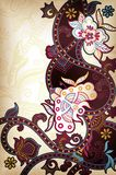 Ásia floral Fotografia de Stock Royalty Free