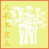 Ásia na laranja Ilustração Royalty Free