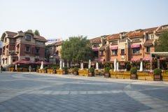 Ásia rua italiana do estilo de China, Tianjin Fotografia de Stock Royalty Free