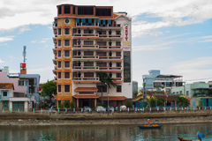Ásia vietnam Rua na cidade Foto de Stock Royalty Free