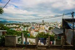 Ásia vietnam Rua na cidade Imagem de Stock Royalty Free
