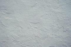 Áspero áspero da textura branca mediterrânea Fotos de Stock Royalty Free