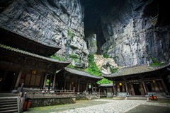 Ático de Tienfu en tres puentes naturales Fotografía de archivo libre de regalías
