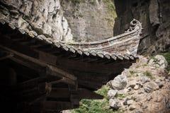 Ático de Tienfu en tres puentes naturales Imágenes de archivo libres de regalías