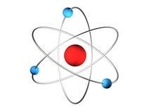átomo 3D Ilustración del Vector