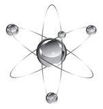 átomo Imagen de archivo libre de regalías