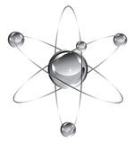 átomo Imagem de Stock Royalty Free