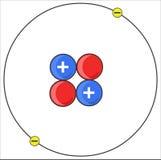 átomo Ilustração do Vetor