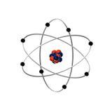 átomo Fotografia de Stock