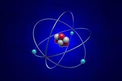 átomo Imagens de Stock