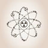 átomo Foto de archivo libre de regalías