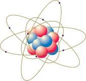 Átomos Imagens de Stock