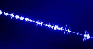 Áudio do estúdio de gravação sonora fotografia de stock