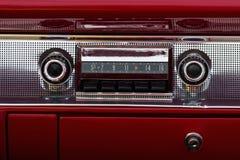 Áudio velho do carro Imagem de Stock