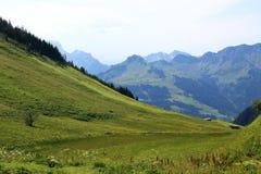 Áustria é sabida como um dos melhores países dos esportes de inverno no mundo Imagens de Stock Royalty Free