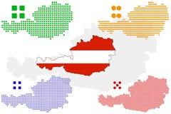 Áustria Ilustração Stock