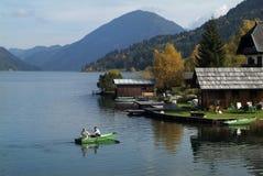 Áustria, Carinthia Fotografia de Stock