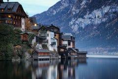 Áustria: Hallstatt Fotografia de Stock