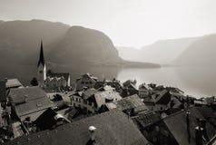 Áustria/Hallstatt fotografia de stock