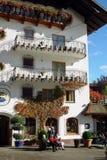 Áustria, hotel Fotos de Stock