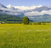 Áustria - montanhas Fotos de Stock Royalty Free
