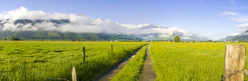 Áustria - montanhas Imagem de Stock Royalty Free