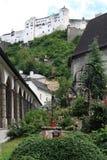Áustria, Salzburg, ano 2011 Imagens de Stock