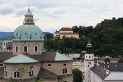 Áustria, Salzburg, ano 2011 Imagem de Stock Royalty Free