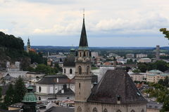 Áustria, Salzburg, ano 2011 Imagens de Stock Royalty Free