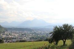 Áustria, Salzburg, ano 2011 Fotografia de Stock